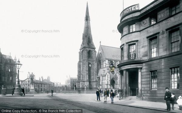 Bury, Market Place 1895