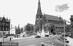 Market Place c.1955, Bury