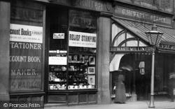 Shops In Fleet Street 1895, Bury