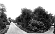 Bury St Edmunds, Abbey Gardens 1898