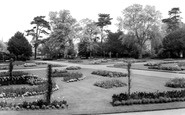Bury St Edmunds, Abbey Gardens c.1965
