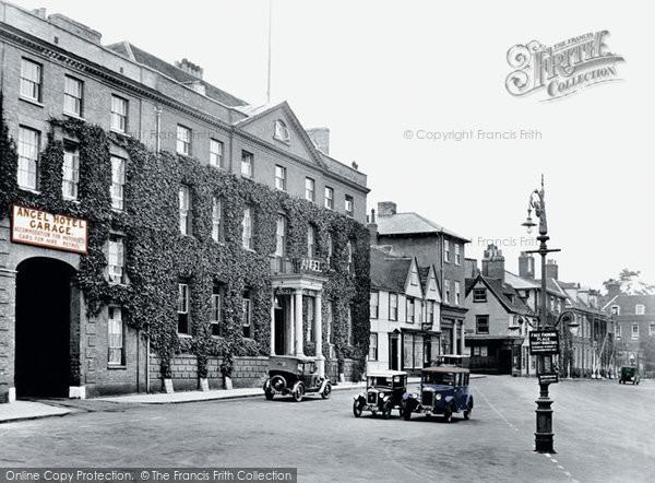 The Angel Hotel Bury St Edmunds Menu