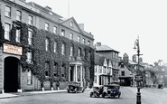 Bury St Edmunds, Angel Hotel 1929
