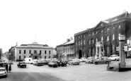 Bury St Edmunds, Angel Hotel And Athenaeum c.1965
