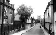 Bury St Edmunds, Churchgate Street c.1965