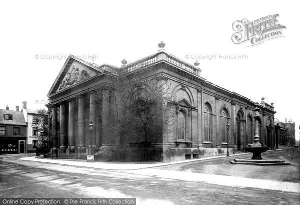 Bury St Edmunds, Corn Exchange 1898
