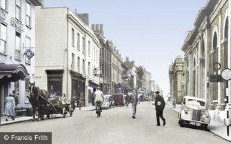 Bury St Edmunds, Cornhill c1950