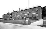 Bury St Edmunds, County Hospital 1898