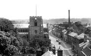 Bury St Edmunds, Crown Street 1929