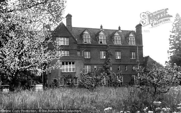 Bury St Edmunds, King Edward Vi School c.1955