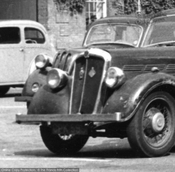 Bury St Edmunds, Morris 10 Car Radiator c.1955