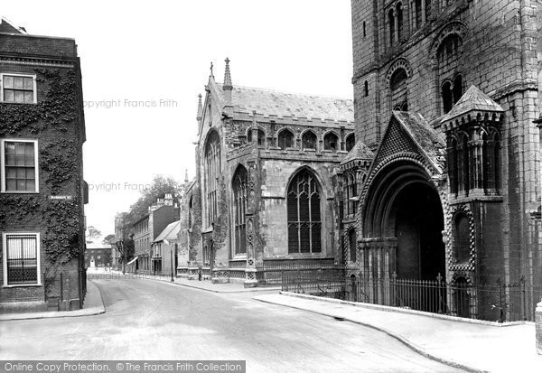 Bury St Edmunds, St James' Cathedral Church 1922