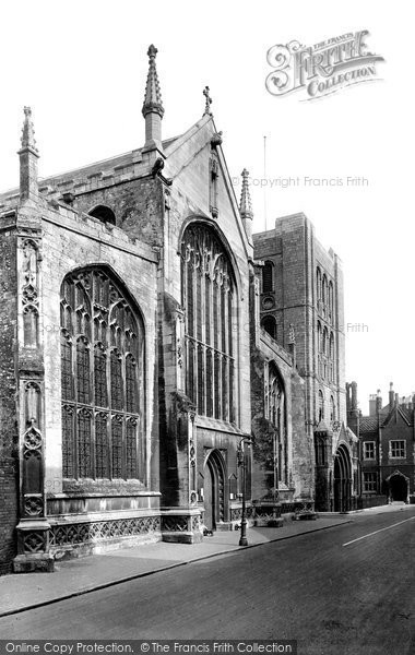 Bury St Edmunds, St James' Church 1929
