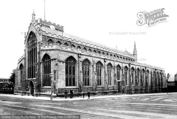 Bury St Edmunds, St Mary's Church 1898