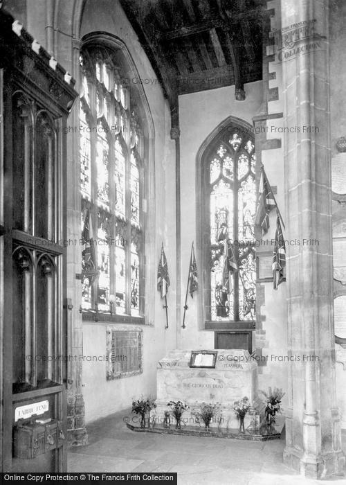 Bury St Edmunds, St Mary's Church, Suffolk War Memorial 1929