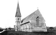 Bury St Edmunds, St Peter's Church 1895
