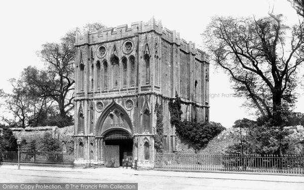 Bury St Edmunds, The Abbey Gateway 1898