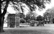 Bury St Edmunds, The Ruins c.1955