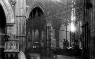 Bury, St Mary's Church, The Choir Screen 1902