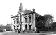 Bury, Textile Hall 1895
