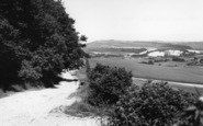 Bury, The Downs Above c.1960
