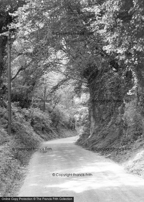 Photo of Bury, The Hollow c.1955