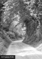 Bury, The Hollow c.1955