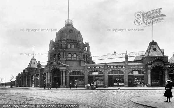 Photo of Bury, the Market 1902