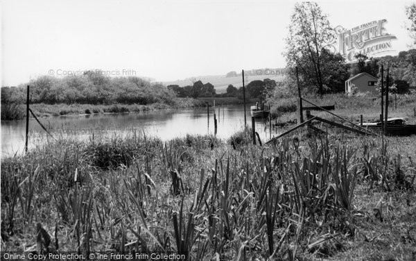 Photo of Bury, The River Arun c.1960