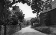 Bury, The Street c.1955