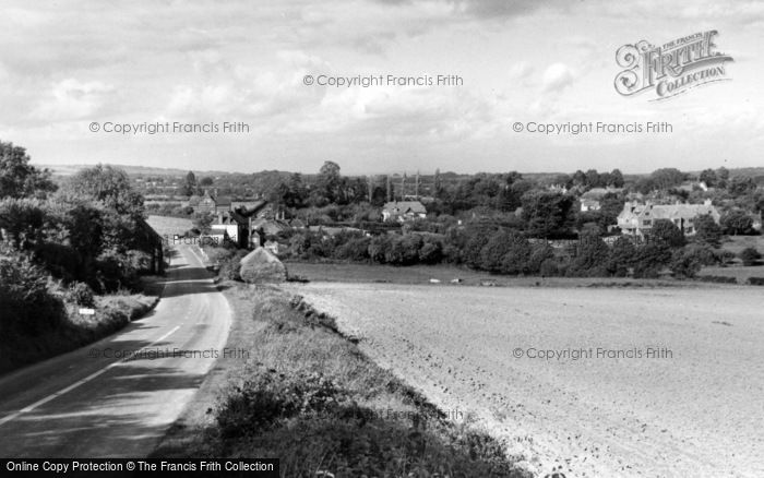Photo of Bury, The Village From Bury Hill c.1960