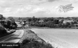 Bury, The Village From Bury Hill c.1960