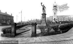 The Whitehead Clock Tower c.1955, Bury
