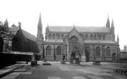 Bury, Unitarian Church And School 1895