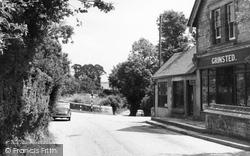 Bury, Village Stores c.1960
