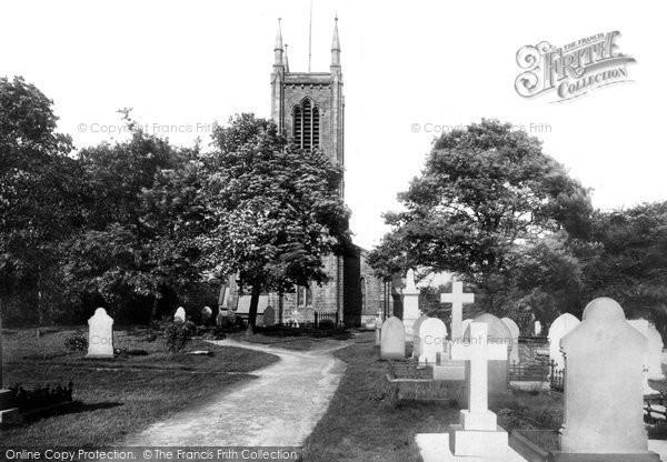 Bury, Walmersley Church 1897