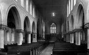 Bury, Walmersley Church Interior 1895