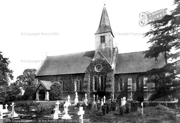 Godalming, Busbridge Church 1906