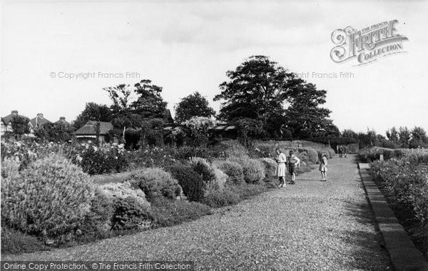 Bush Hill Park, Bush Hill Park c.1955
