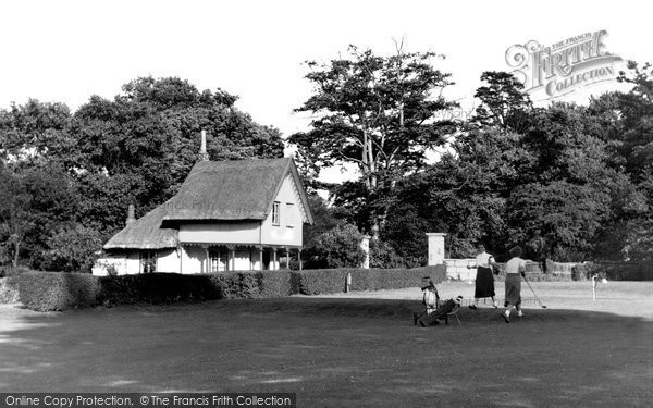 Bush Hill Park, The Golf Club c.1955