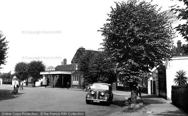 Bush Hill Park, The Station c.1955