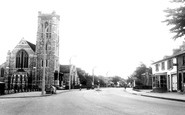 Bushey Heath, High Road c.1955