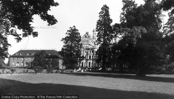 Photo of Bushey Heath, Rosary Priory c1955