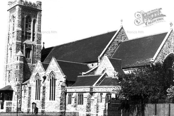 Bushey Heath, St Peter's Church c.1955
