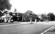 Bushey Heath, The Alpine Restaurant And Cross Roads c.1955