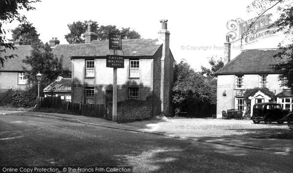 Bushey Heath, The Kings Head c.1955