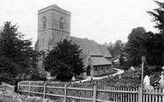 Bussage, Church Of St Michael And All Angels 1910