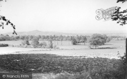 Butleigh, Glastonbury Tor From Brick Hill c.1955