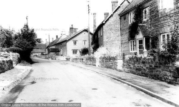 Butleigh, High Street c.1955