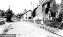High Street c.1955, Butleigh